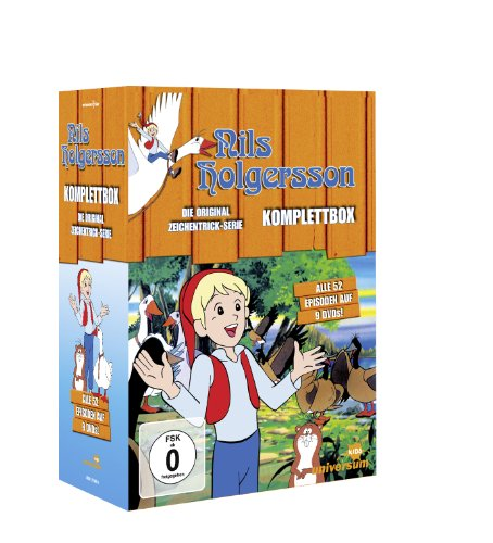 Nils Holgersson TV-Serien-Komplettbox (9 DVDs)