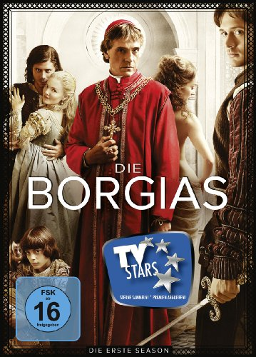 Die Borgias Staffel 1 (3 DVDs)