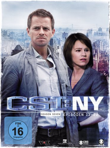 CSI: NY Season 7.2 (3 DVDs)