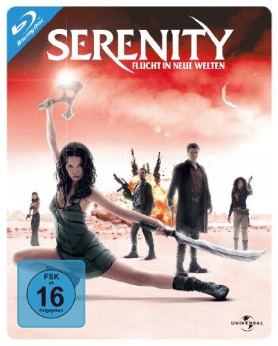 Serenity Flucht in neue Welten (Steelbook) [Blu-ray]