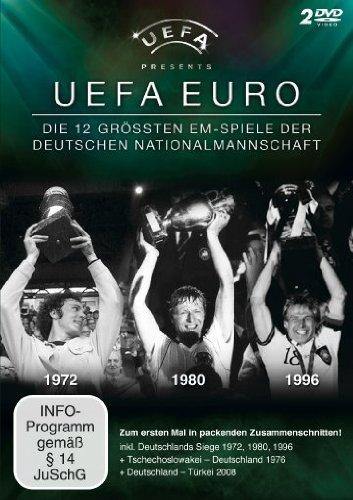 UEFA Euro Die 12 größten EM-Spiele der Deutschen Nationalmannschaft (2 DVDs)
