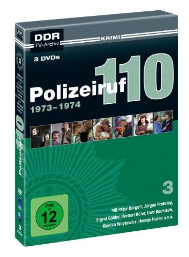 Polizeiruf 110 Box  3: 1973-1974 (DDR TV-Archiv) (3 DVDs)