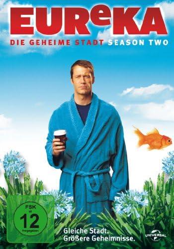 EUReKA - Die geheime Stadt, Staffel 2 (4 DVDs)