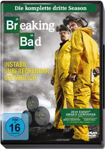 Breaking Bad Season 3 (4 DVDs)