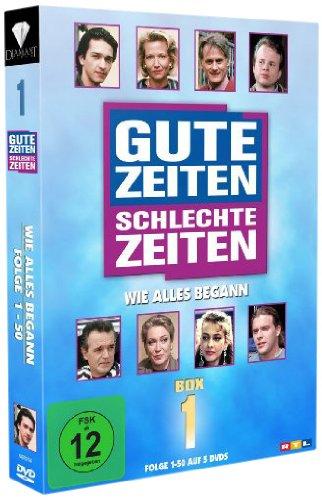 Gute Zeiten, schlechte Zeiten Wie alles begann - Box 1, Folgen 1-50 (5 DVDs)