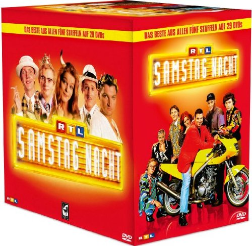 RTL Samstag Nacht Box/Das Beste aus Staffel 1-5 (29 DVDs)