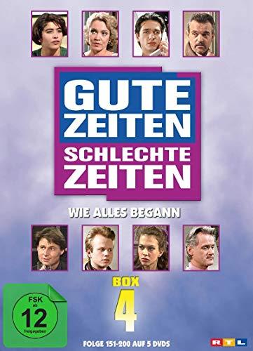 Gute Zeiten, schlechte Zeiten Wie alles begann - Box 4, Folgen 151-200 (5 DVDs)