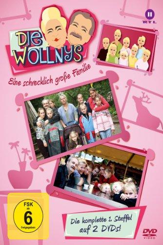 Die Wollnys - Eine schrecklich große Familie Staffel 1 (2 DVDs)