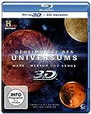 Geheimnisse des Universums - Mars/Merkur/Venus [3D Blu-ray + 2D Version]