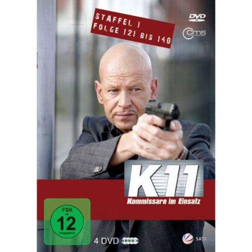 K11 Kommissare im Einsatz: Staffel 1, Folge 121-140 (4 DVDs)