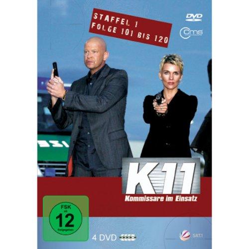 K11 Kommissare im Einsatz: Staffel 1, Folge 101-120 (4 DVDs)
