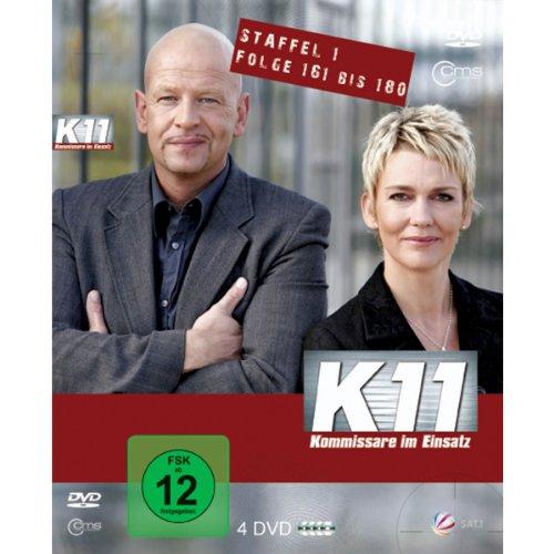 K11 Kommissare im Einsatz: Staffel 1, Folge 161-180 (4 DVDs)