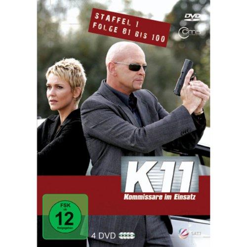 K11 Kommissare im Einsatz: Staffel 1, Folge  81-100 (4 DVDs)