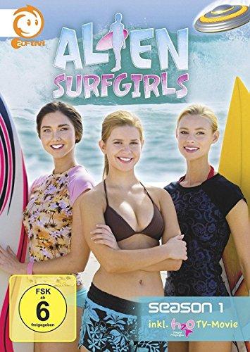 Alien Surfgirls - Staffel 1 + H2O TV-Movie (4 DVDs)
