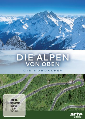 Die Alpen von oben: