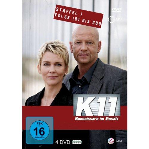 K11 Kommissare im Einsatz: Staffel 1, Folge 181-200 (4 DVDs)