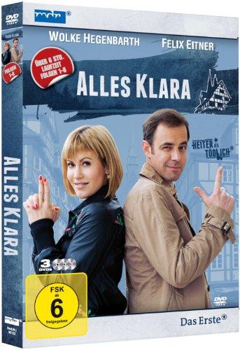 Alles Klara Folgen 1-8 (3 DVDs)
