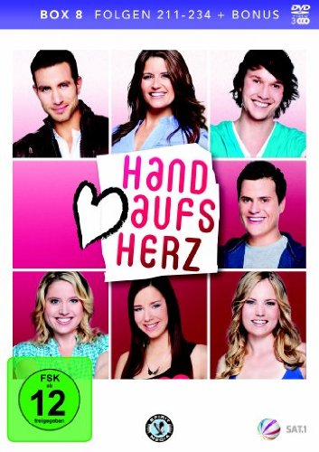 Hand aufs Herz Box 8: Folge 211-234 (3 DVDs)
