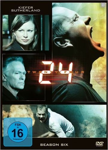 24 Season 6 (6 DVDs)