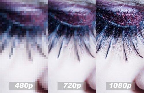 Holt das Beste aus dem Signal raus bis 1080p (3D)