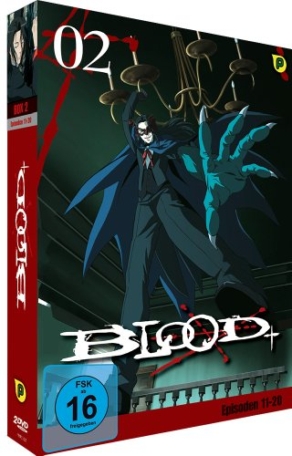 Blood+ Box, Vol. 2 (2 DVDs)