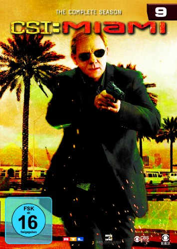 CSI: Miami Season  9 (6 DVDs)