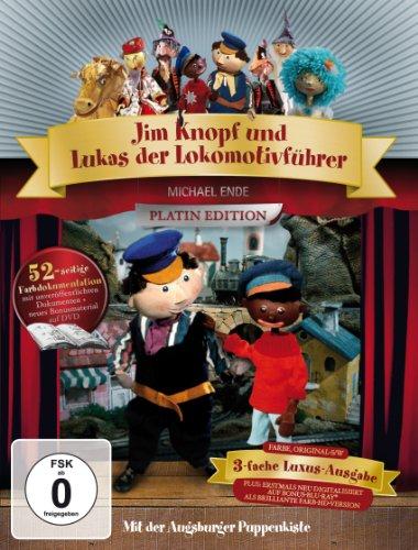 Augsburger Puppenkiste - Jim Knopf und Lukas der Lokomotivführer Platin Edition mit Blu-ray (3 DVDs)