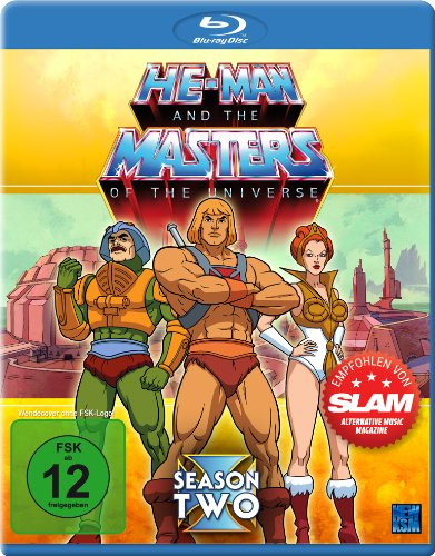 He-Man and the Masters of the Universe Season 2 [Blu-ray]