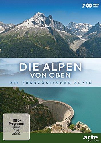 Die Alpen von oben: Die französischen Alpen (2 DVDs)