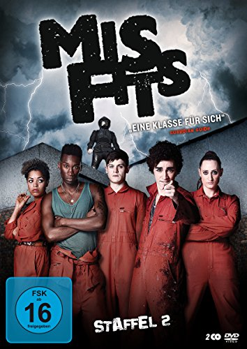 Misfits Staffel 2 (2 DVDs)