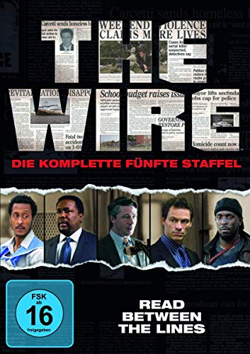 The Wire Staffel 5 (4 DVDs)