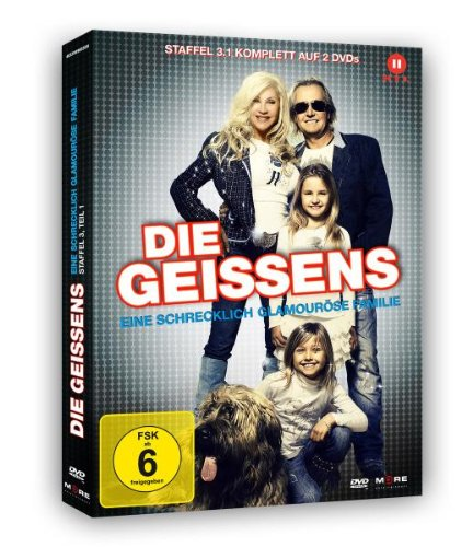 Die Geissens - Eine schrecklich glamouröse Familie: Staffel  3, Teil 1 (2 DVDs)