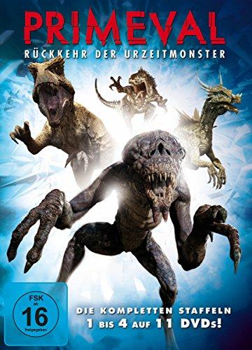 Primeval - Rückkehr der Urzeitmonster: Staffel 1-4 (11 DVDs)