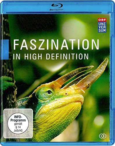 Faszination in High Definition - 25 Jahre UNIVERSUM (6 Folgen + Bonusfilm in 3D) [2 Blu-rays]