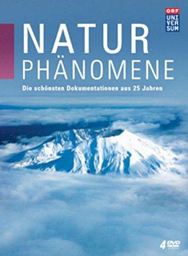 Naturphänomene - Die schönsten Dokumentationen aus 25 Jahren UNIVERSUM (4 DVDs)