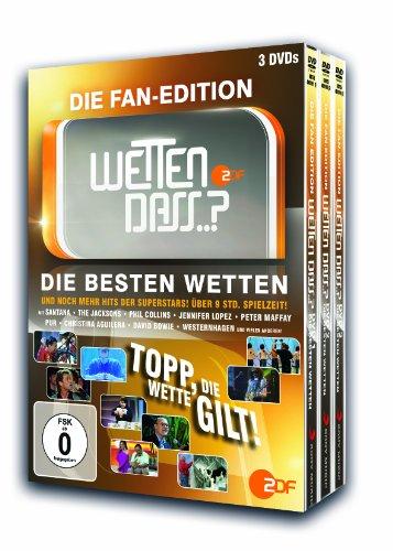 Wetten, dass...? Fan-Edition/Die besten Wetten (3 DVDs)