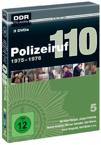 Polizeiruf 110 Box  5: 1975-1976 (DDR TV-Archiv) (3 DVDs)