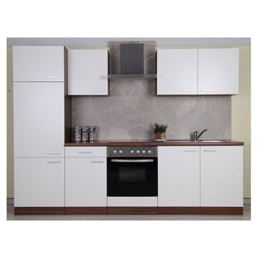 mebasa cucinab270nw k che moderne k chenzeile. Black Bedroom Furniture Sets. Home Design Ideas