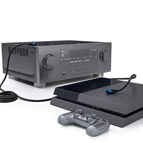Exzellenter Klang bei Spielekonsolen mit Toslink-Anschluss