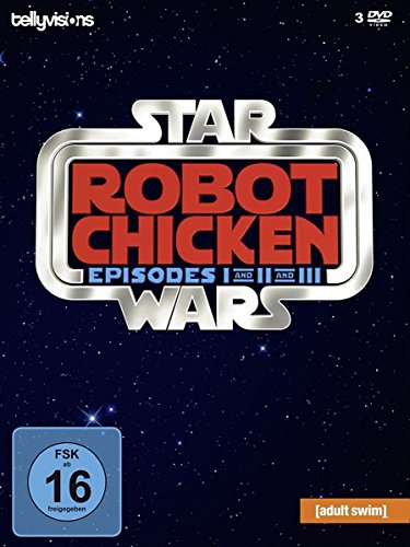 Robot Chicken Star Wars: Episode I and II and III (3 DVDs)