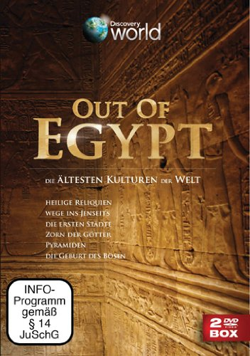 Out of Egypt 2 DVDs