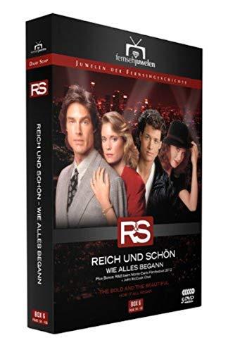 Reich und schön Wie alles begann: Box  6, Folgen 126-150 (5 DVDs)