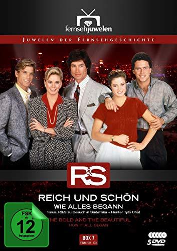 Reich und schön Wie alles begann: Box  7, Folgen 151-175 (5 DVDs)