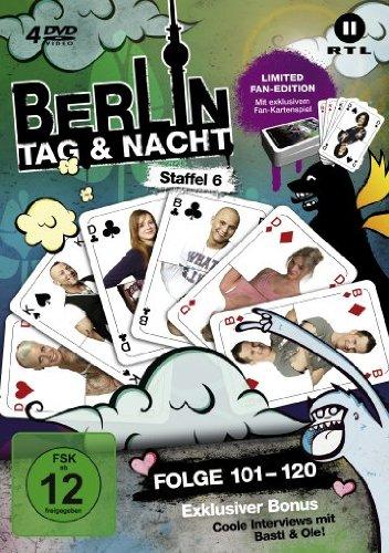 Berlin - Tag & Nacht, Vol.  6: Folgen 101-120 (Fan Edition) (4 DVDs)