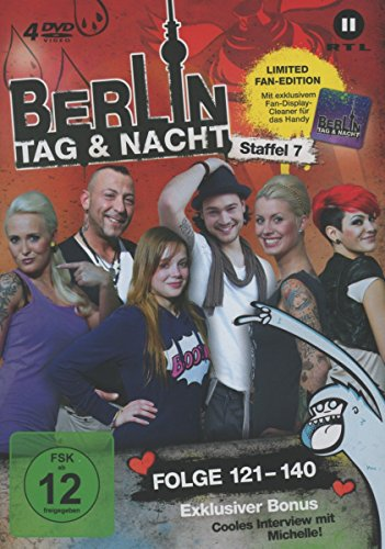Berlin - Tag & Nacht, Vol.  7: Folgen 121-140 (Fan Edition) (4 DVDs)