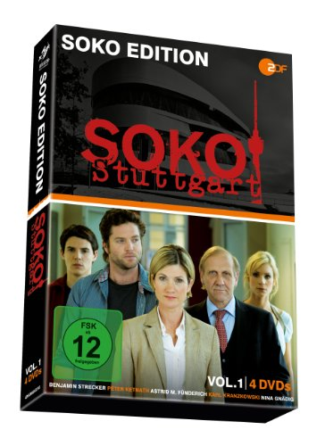 SOKO Stuttgart Vol. 1 (4 DVDs)