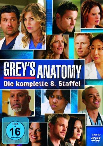 Grey's Anatomy - Die jungen Ärzte: Staffel  8 (6 DVDs)