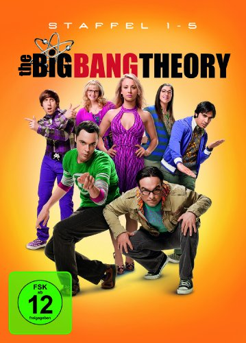 The Big Bang Theory Staffel 1-5 (exklusiv bei Amazon.de)