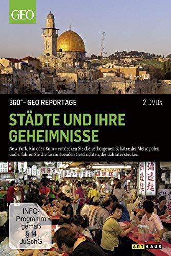 360° - Die GEO-Reportage: Städte und ihre Geheimnisse (2 DVDs)