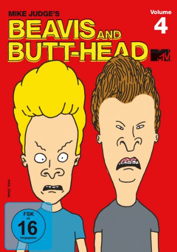 Beavis & Butt-Head The Mike Judge Collection, Vol. 4 (OmU) (3 DVDs)
